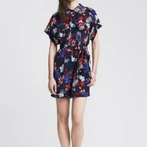 Banana Republic Heritage Collection Silk Romper